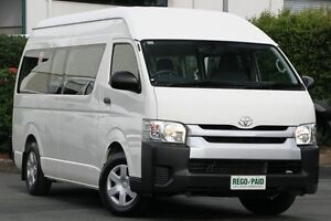 2014 Toyota Hiace TRH223R MY14 Commuter High Roof Super LWB White 4 Speed Automatic Bus Acacia Ridge Brisbane South West Preview