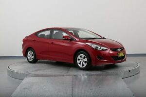 2013 Hyundai Elantra MD2 Active Red 6 Speed Sports Automatic Sedan Old Guildford Fairfield Area Preview