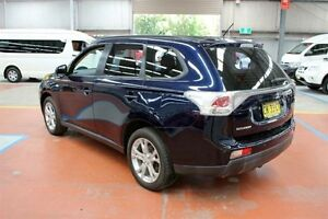 2013 Mitsubishi Outlander ZJ MY13 ES 2WD Blue 6 Speed Constant Variable Wagon Maryville Newcastle Area Preview