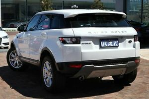 2014 Land Rover Range Rover Evoque L538 MY14 TD4 Pure White 9 Speed Sports Automatic Wagon Osborne Park Stirling Area Preview