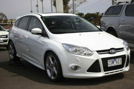 2013 Ford Focus LW MKII Titanium PwrShift 6 Speed Sports Automatic Dual Clutch Hatchback
