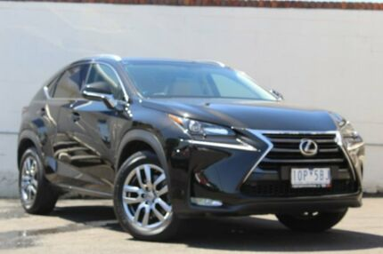 2015 Lexus NX AGZ15R NX200t AWD Sports Luxury Black 6 Speed Sports Automatic Wagon Preston Darebin Area Preview