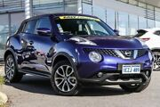 2016 Nissan Juke F15 Series 2 ST X-tronic 2WD Blue 1 Speed Constant Variable Hatchback Rockingham Rockingham Area Preview