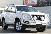 2013 Toyota Landcruiser Prado KDJ150R GXL Glacier White 5 Speed Sports Automatic Wagon Adelaide CBD Adelaide City Preview