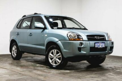 2009 Hyundai Tucson JM MY09 City SX 4 Speed Sports Automatic Wagon Welshpool Canning Area Preview