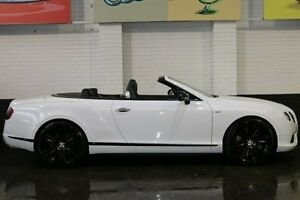 2014 Bentley Continental 3W MY15 White 8 Speed Sports Automatic Convertible Southbank Melbourne City Preview