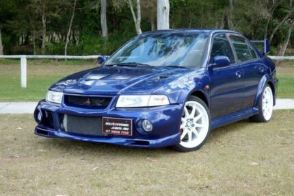 1999 Mitsubishi Lancer Evolution VI Blue Manual Sedan Slacks Creek Logan Area Preview
