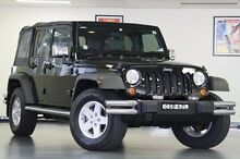 2008 Jeep Wrangler JK Unlimited Sport Black 4 Speed Automatic Softtop North Willoughby Willoughby Area Preview