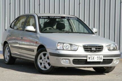 2001 Hyundai Elantra XD GLS Silver 4 Speed Automatic Hatchback Blair Athol Port Adelaide Area Preview