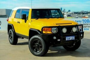 2011 Toyota FJ Cruiser GSJ15R Yellow 5 Speed Automatic Wagon Osborne Park Stirling Area Preview
