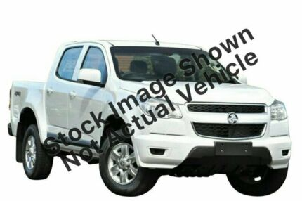 2012 Holden Colorado RG LT (4x4) White 5 Speed Manual Crew Cab Pickup Cannington Canning Area Preview