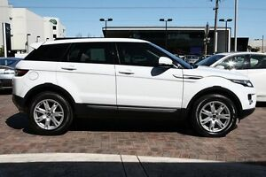 2013 Land Rover Range Rover Evoque L538 MY13.5 SD4 Pure White 6 Speed Manual Wagon Osborne Park Stirling Area Preview
