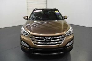 2013 Hyundai Santa Fe DM Highlander CRDi (4x4) Arabian Mocha 6 Speed Automatic Wagon Moorabbin Kingston Area Preview