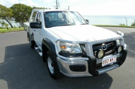 2007 Mazda BT-50 UNY0E3 DX White 5 Speed Manual Cab Chassis