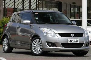 2012 Suzuki Swift FZ Sport Premium Silver 7 Speed Constant Variable Hatchback Christies Beach Morphett Vale Area Preview