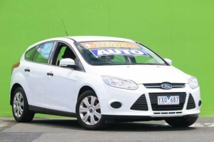 2012 Ford Focus LW Ambiente PwrShift White 6 Speed Sports Automatic Dual Clutch Hatchback Ringwood East Maroondah Area Preview