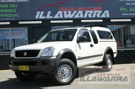 2005 Holden Rodeo RA LX White 5 Speed Manual Utility