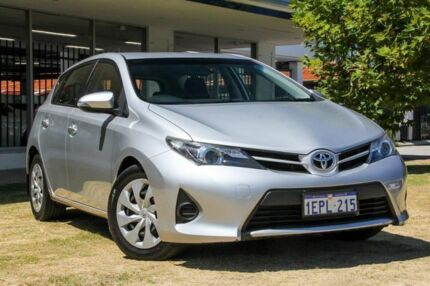 2014 Toyota Corolla ZRE182R Ascent S-CVT Silver 7 Speed Constant Variable Hatchback Victoria Park Victoria Park Area Preview