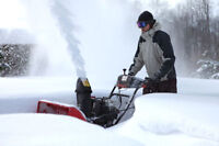 Snow plowing snow shovelling snow removal COBOURG
