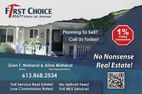 Full Service, Low Fees, U Do Not Pay Until YOUR Home is SOLD !