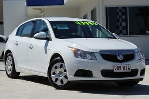 2012 Holden Cruze JH Series II MY12 CD White 6 Speed Sports Automatic Hatchback Moorooka Brisbane South West Preview