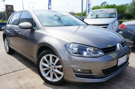2013 Volkswagen Golf VII 103TSI DSG Highline Grey 7 Speed Sports Automatic Dual Clutch Hatchback Pearce Woden Valley Preview