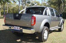 2011 Nissan Navara D40 ST Grey 6 Speed Manual Utility Bundaberg West Bundaberg City Preview