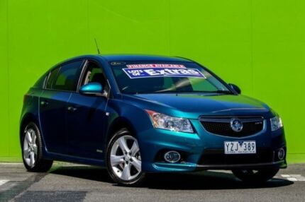 2012 Holden Cruze JH Series II MY12 SRi-V Green 6 Speed Sports Automatic Hatchback Ringwood East Maroondah Area Preview