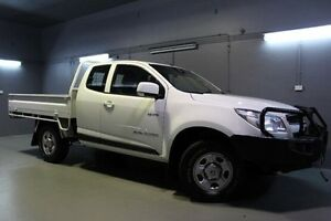 2014 Holden Colorado RG MY14 LX Space Cab White 6 Speed Sports Automatic Cab Chassis Launceston Launceston Area Preview