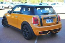 2014 Mini Hatch F56 Cooper S Orange 6 Speed Manual Hatchback Wangara Wanneroo Area Preview