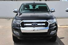 2015 Ford Ranger PX MkII XLT Double Cab Black Mica 6 Speed Manual Utility Wangara Wanneroo Area Preview