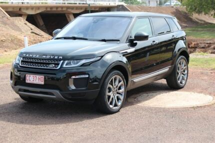 2016 Land Rover Range Rover Evoque L538 MY16.5 TD4 180 Coupe HSE Dynamic Black 9 Speed The Gardens Darwin City Preview