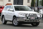 2012 Toyota Kluger GSU45R MY12 KX-R AWD White 5 Speed Sports Automatic Wagon Nundah Brisbane North East Preview