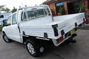 2013 Volkswagen Amarok 2H MY13 TDI400 Trendline (4x4) White 6 Speed Manual Dual Cab Chassis Hamilton Newcastle Area Preview