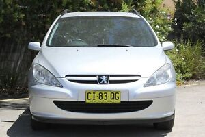 2005 Peugeot 307 T6 XS HDI Touring Silver 5 Speed Manual Wagon Underwood Logan Area Preview