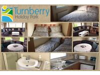 Caravan hire at Turnberry holiday park