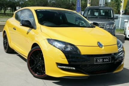 2012 Renault Megane III D95 R.S. 265 Trophy 8:08 Yellow 6 Speed Manual Coupe