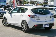 2010 Mazda 3 BL10F1 Maxx White 6 Speed Manual Hatchback Cannington Canning Area Preview