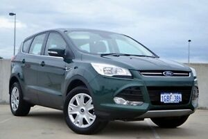 2016 Ford Kuga TF MY16 Ambiente 2WD Green 6 Speed Manual Wagon Midland Swan Area Preview