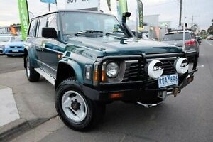 1996 Nissan Patrol GQ II ST Green 5 Speed Manual Wagon Dandenong Greater Dandenong Preview