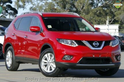 2015 Nissan X-Trail T32 ST-L X-tronic 2WD Burning Red 7 Speed Constant Variable Wagon Mornington Mornington Peninsula Preview