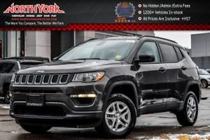 2018 Jeep Compass New Car Sport 4x4|9-SpeedAuto|SportAppr,ColdWt