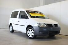 2007 Volkswagen Caddy 2K Life White 6 Speed Direct Shift Wagon Underwood Logan Area Preview