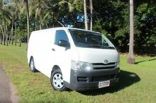 2009 Toyota Hiace KDH201R MY08 LWB French Vanilla 5 Speed Manual Van The Gardens Darwin City Preview