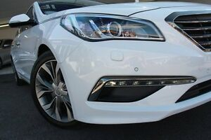 2015 Hyundai Sonata LF Premium White 6 Speed Automatic Sedan Wolli Creek Rockdale Area Preview