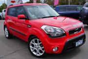 2012 Kia Soul AM MY12 + Red 6 Speed Automatic Hatchback Phillip Woden Valley Preview