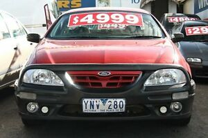 2000 Ford Falcon AU XLS Burgundy 4 Speed Automatic Utility Briar Hill Banyule Area Preview
