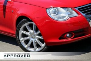 2008 Volkswagen EOS 1F MY08 TDI DSG Red 6 Speed Sports Automatic Dual Clutch Convertible