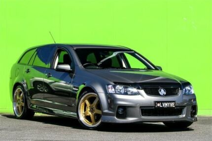 2013 Holden Commodore VE II MY12.5 SV6 Sportwagon Z Series Alto Grey 6 Speed Sports Automatic Wagon
