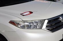 2011 Toyota Kluger GSU40R MY11 KX-R 2WD Pearl White 5 Speed Sports Automatic Wagon Cannington Canning Area Preview